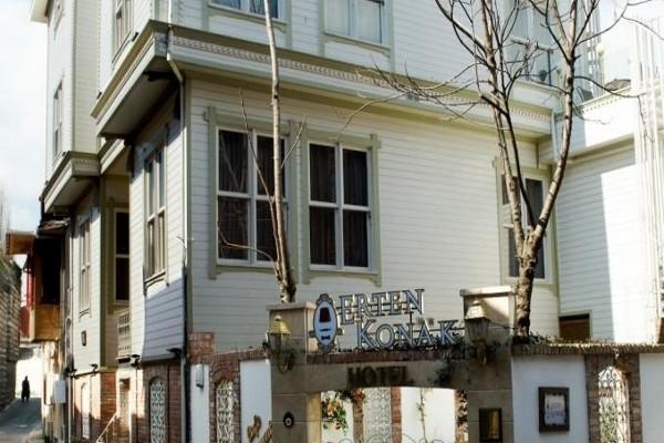 Facade - Hôtel Erten Konak 3* Istanbul Turquie