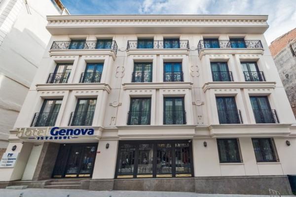 Facade - Hôtel Genova 4* Istanbul Turquie