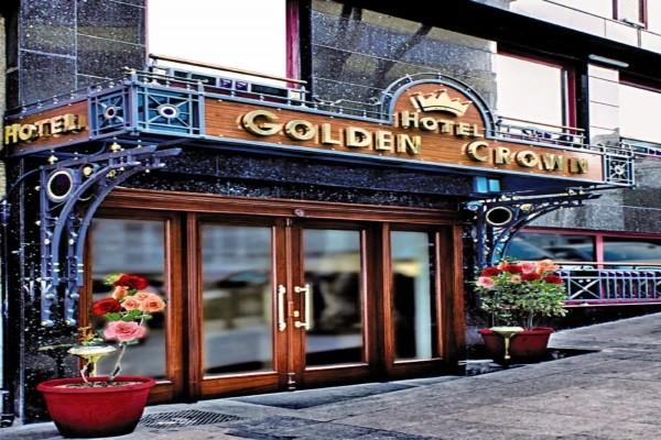 Façade de l'hôtel - Golden Crown