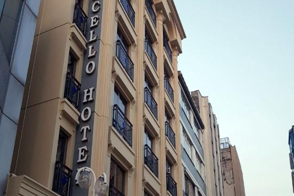 Facade - Hôtel Grand Marcello 3* Istanbul Turquie