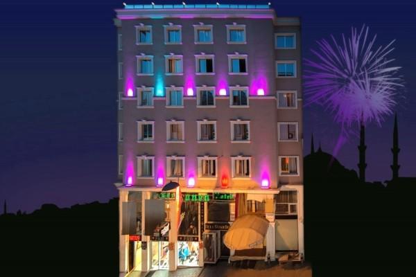 Facade - Hôtel Laleli Gonen 3* Istanbul Turquie