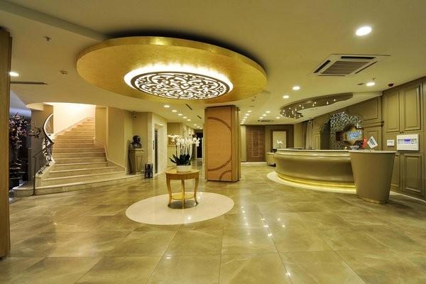 Hall - Hôtel Yasmak Sultan 4* Istanbul Turquie