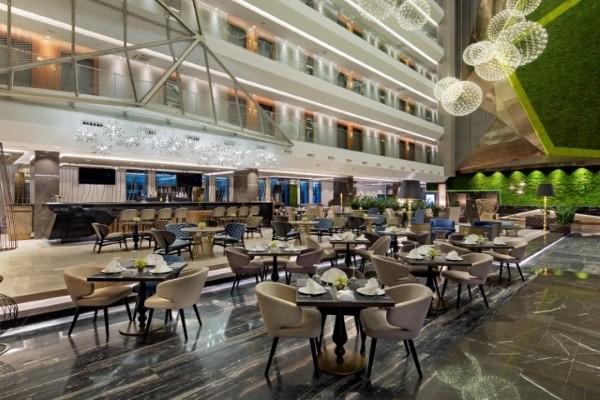 Restaurant - Hôtel Doubletree By Hilton Piyalepasa 5* Istanbul Turquie