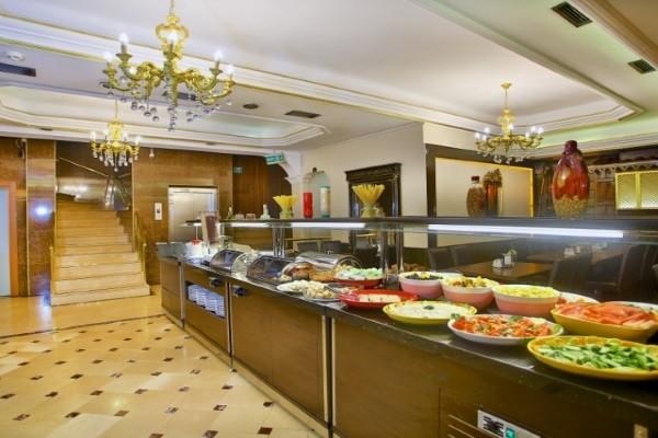Restaurant - Hôtel Grand Ant 3* Istanbul Turquie