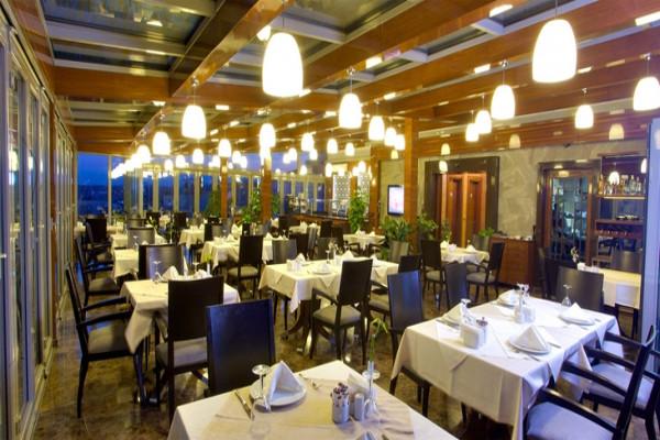 Restaurant - Hôtel Monaco 3* Istanbul Turquie