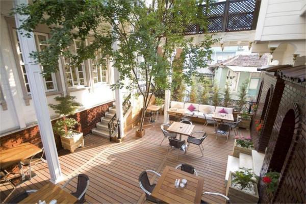 Terrasse - Hôtel Avicenna 4* Istanbul Turquie