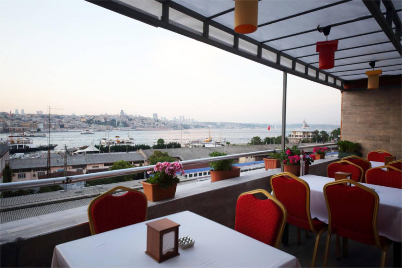 Terrasse - Hôtel Fram Immersion Istanbul - Golden Horn Sirkeci 4* Istanbul Turquie