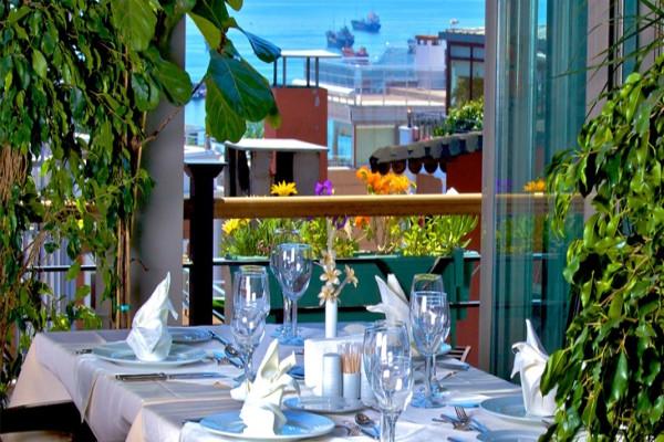 Terrasse - Hôtel Monaco 3* Istanbul Turquie