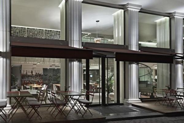 Terrasse - Hôtel Ramada Grand Bazaar 4* Istanbul Turquie