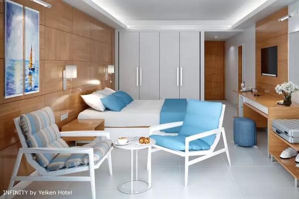 Chambre - Hôtel Infinity By Yelken 5* Izmir Turquie