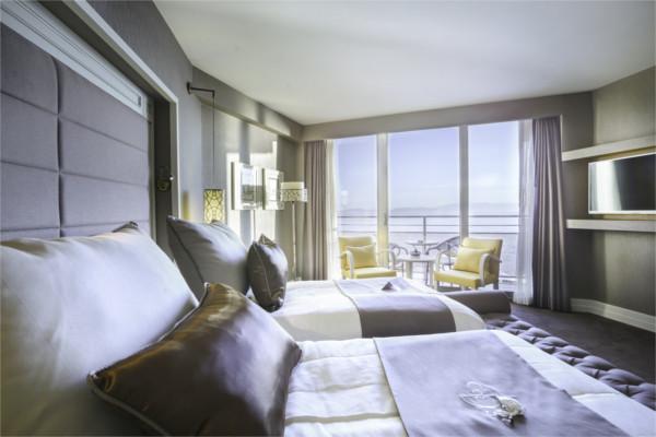 Chambre - Hôtel Suhan 360 5* Izmir Turquie