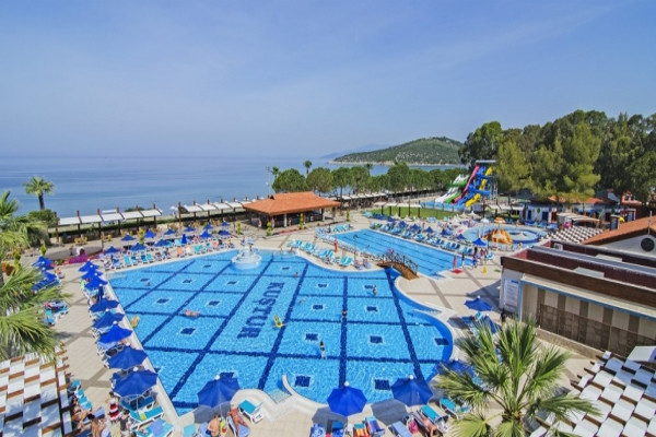 Piscine - Hôtel Kustur Club Holiday Village 5* Izmir Turquie