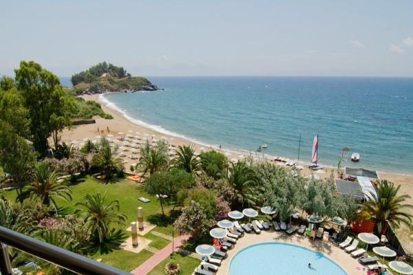 Plage - Hôtel Coralia Maxima Bay 4* Izmir Turquie