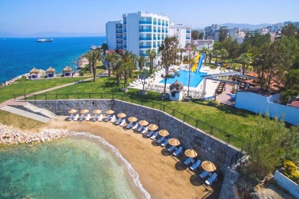 Plage - Hôtel Le Bleu Hôtel & Resort 5* Izmir Turquie