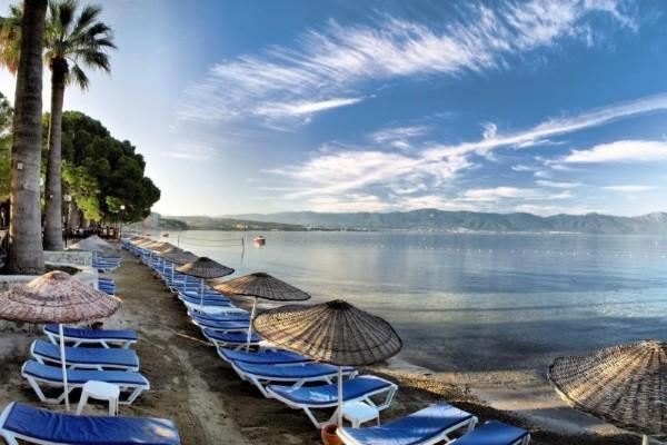 Plage - Hôtel Ömer Holiday Village 4* Izmir Turquie