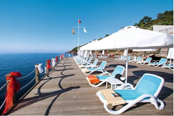 Terrasse - Club Jet Tours Paloma Pasha 5* Izmir Turquie