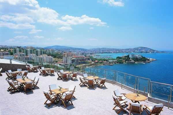 Terrasse - Hôtel Korumar 5* Izmir Turquie