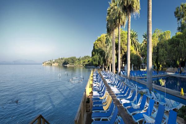Terrasse - Hôtel Omer Holiday Resort 4* Izmir Turquie