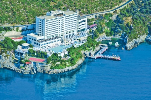 Vue panoramique - Hôtel Korumar Deluxe 5* Izmir Turquie