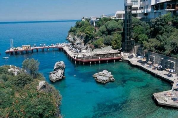 Vue panoramique - Hôtel Korumar 5* Izmir Turquie