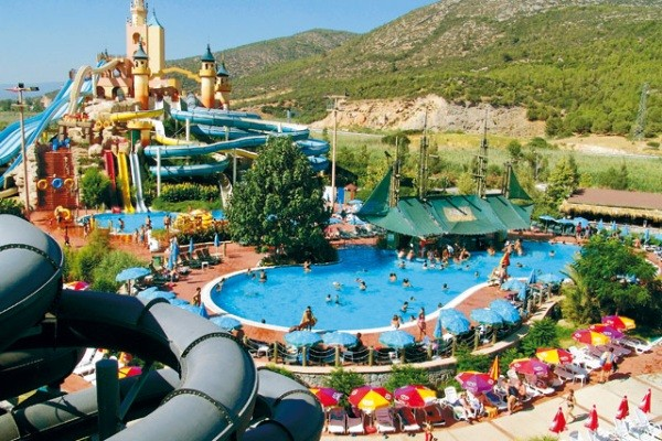 H 244 Tel Splash World Aqua Fantasy Izmir Turquie Ecotour