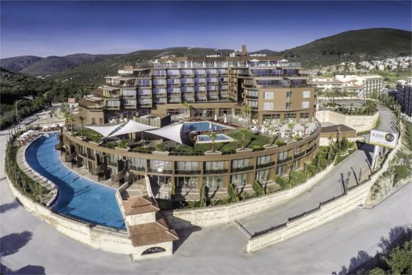 Vue panoramique - Hôtel Suhan 360 5* Izmir Turquie