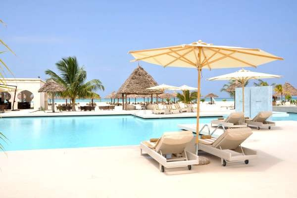 Piscine - Gold Zanzibar Beach House & Spa 5* Zanzibar Tanzanie