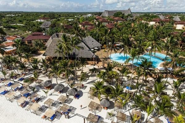 Vue panoramique - Club Bravo Club Kiwengwa 4* Zanzibar Tanzanie