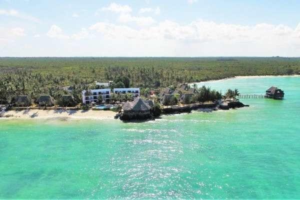Vue aérienne de l'hôtel - Reef & Beach Resort