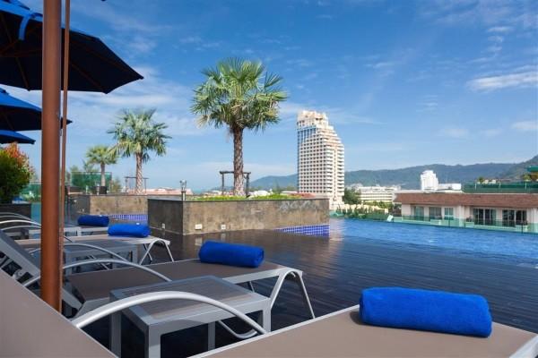 Hôtel Best Western Patong Beach 3* sup
