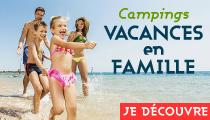 Camping vacances en famille