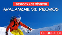 Destockage ski Fevrier