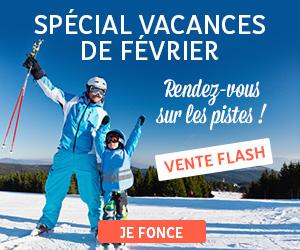 Vente flash ski
