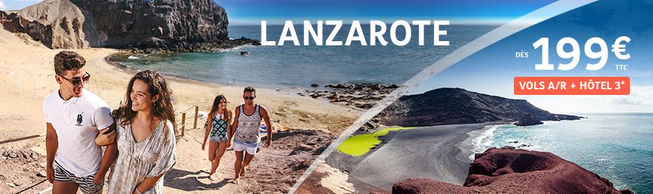 Lanzarote : séjours aux îles Canaries