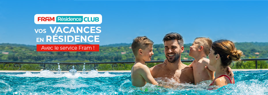 Séjours en France en FRAM Résidence Club
